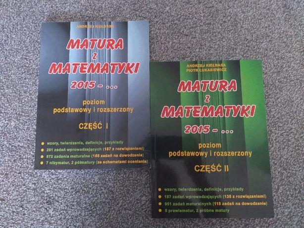 """""""Matura z matematyki""""- poziom podstawowy i rozszerzony. Część 1 i 2"""