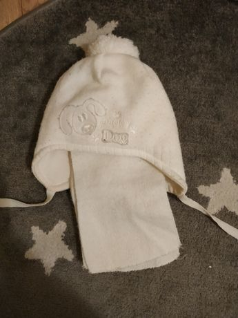 Zestaw czapka+szalik dla chłopca i dziewczynki