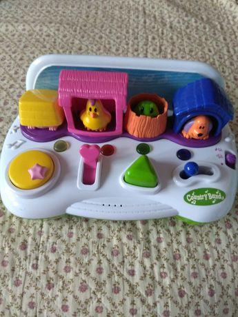 Детская музыкальная игрушка животные