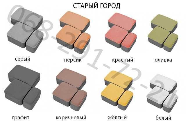 Тротуарная Плитка - Производитель - Гарантия - Доставка
