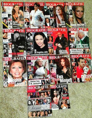 Magazyn Polski TOP BIOGRAFIE 2003, 2004, 2005, 2006,2007 rok