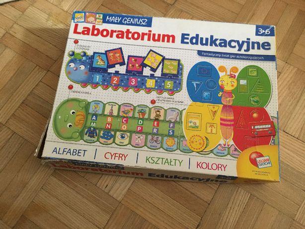 Mały Geniusz Laboratorium Edukacyjne Lisciani Giochi Mikołajki Święta