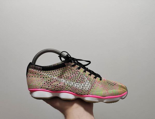 Фирменные кроссовки Nike Flyknit Zoom Agility Multicolour