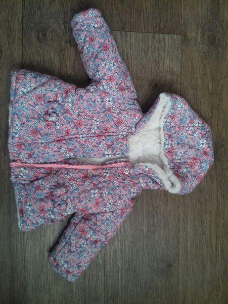 Зимняя куртка для маленьких