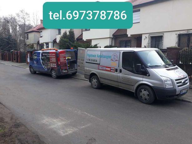 Hydraulik,udrażnianie RUR ,kanalizacji ,przepychanie ciśnieniowe 24h