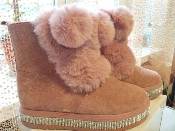 Зимние сапожки. Уги. Ботинки.