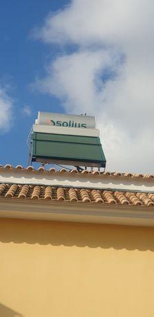 painel solar termossifão