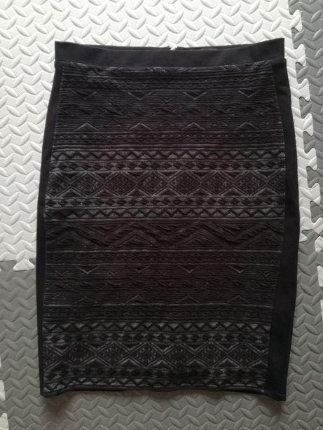 Spódnica czarna ołówkowa Reserved r. 42 Xl