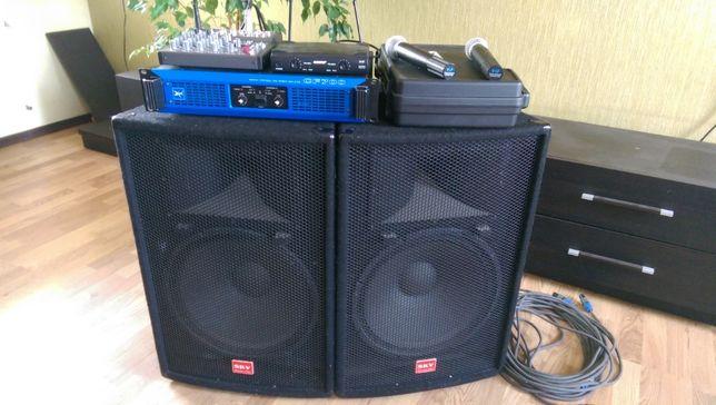 Комплект звука 0.7 квт Park Audio, SKV можно за BTC (Bitcoin)