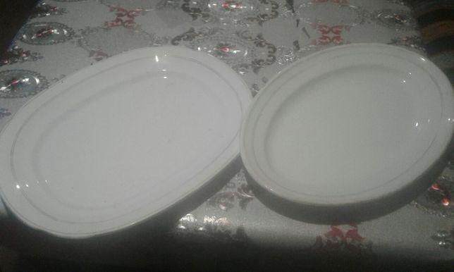 2 антикварні блюда тарілки стан ідеальний зі штампами
