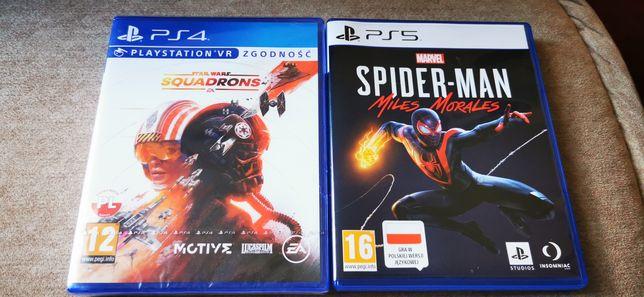 Spiderman miles morales + star wars squadrons