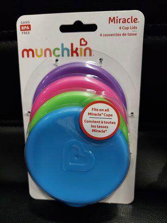 Munchkin  Рожева кришка для горнятка