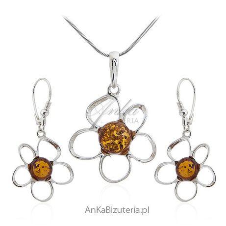 ankabizuteria.pl moon river biżuteria Komplet biżuteria srebrna z burs