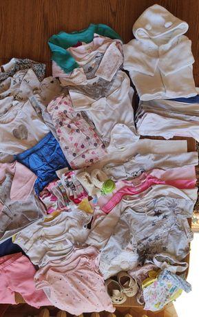 Paka ubranek dziewczynka 62-68 cm, 3-6 miesiące, h&m, next, Zara, inne
