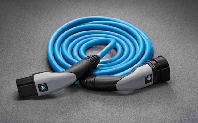 кабель для быстрой зарядки к общественным зарядным станциям BMW Tesla