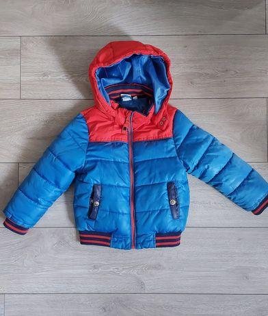 Zimowa kurtka chłopięca Spider-Man r 92/98