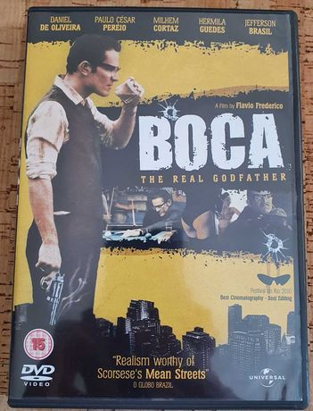 DVD Boca - The real Godfather