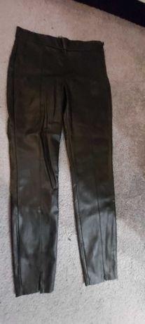 Spodnie oraz spódnica eko skóra