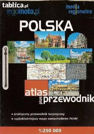 Polska,  atlas plus przewodnik