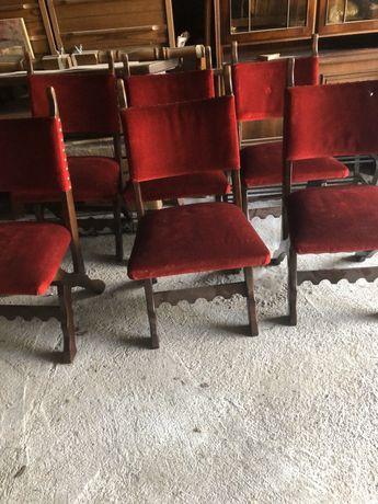 6 krzeseł dębowychholenderskich