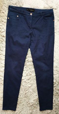 Granatowe spodnie, rozmiar 42