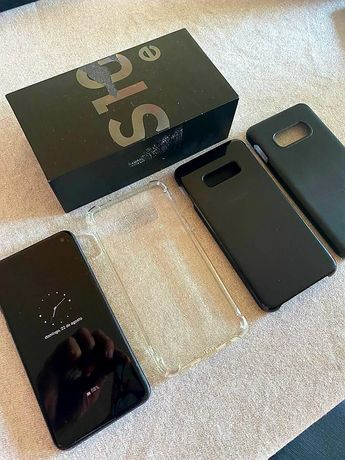 Samsung galaxy S10e C/Caixa original 128 GB Rom 6gb RAM Android 11