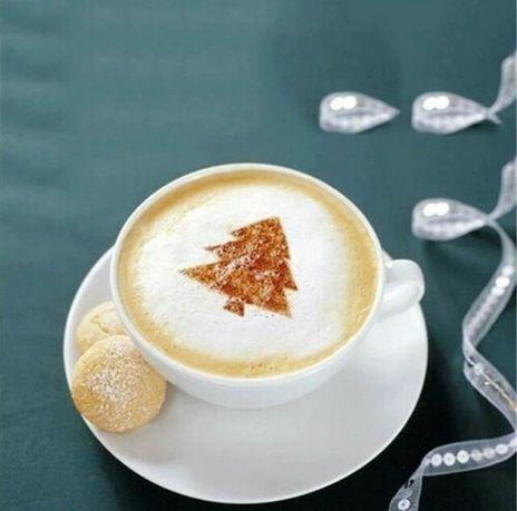 Трафареты для капучино и кофе