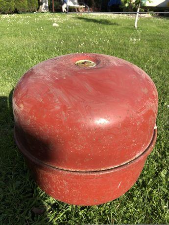 Metalowy zbiornik kulisty palenisko grill koksiok zbiornik