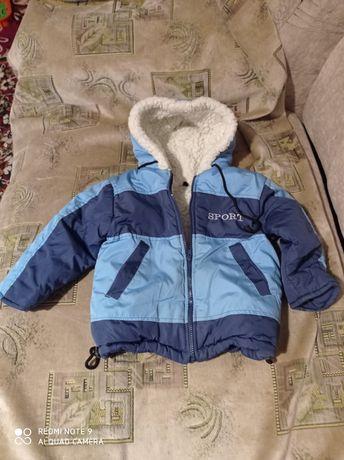 Дитяча куртка .комбінезон.плюс 2 штанів зима на мальчика 3-4 роки.