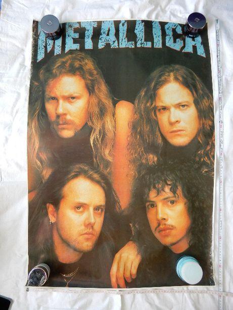Metallica - archiwalny, duży plakat z lat 90', oryginał