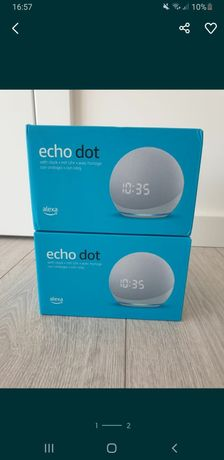 Echo dot 4 com relogio