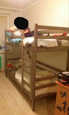 Łóżko piętrowe 80x180