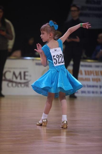 Платье для бальных танцев/Бейсик/бейзик