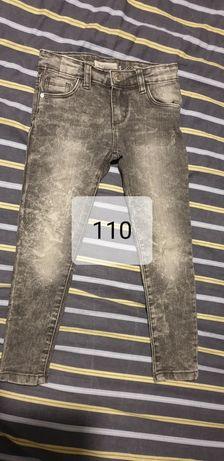 Spodnie jeansy dla dziewczynki rozmiar 110