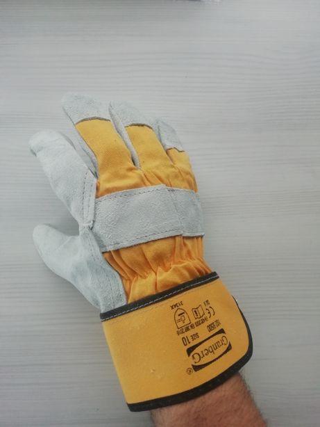 Рукавиці робочі шкіряні захисні Granberg перчатки рабочие кожаные
