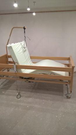 łóżko rehabilitacyjne elektryczne.