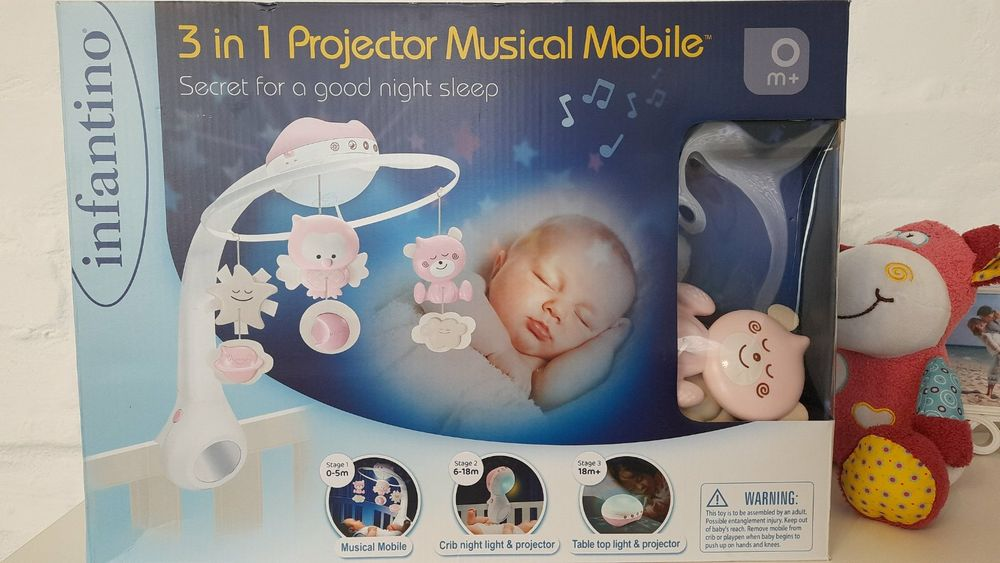 Мобиль музыкальный с проектором 3 в 1 Infantino Кременчуг - изображение 1