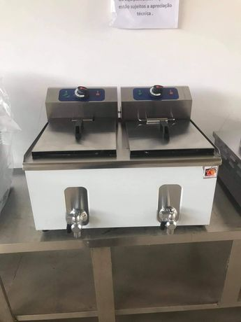 Fritadeira 8+8lts (nova) com garantia