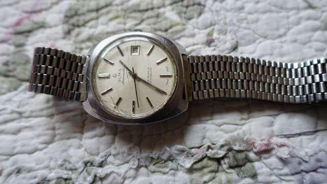 zegarek OLMA Automatic Swiss 25 jawels incablok meski na chodzie