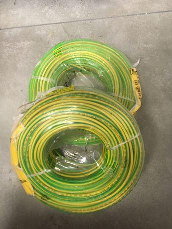 Przewód 1x5mm2 żółto-zielony