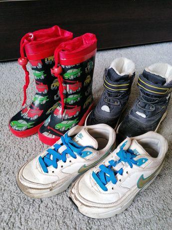 Buty dla chłopca Nike, kalosze, zimowe r. 26