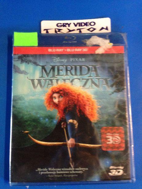 Merida Waleczna PL Film BLU-RAY 3D/2D NOWY