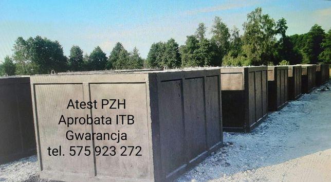 Zbiornik Betonowy Szambo Deszczówka Gnojowica Gnojówka Piwniczka
