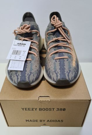Nowe Adidas Yeezy 380 Mist r 9 US, 42 2/3 streetwear