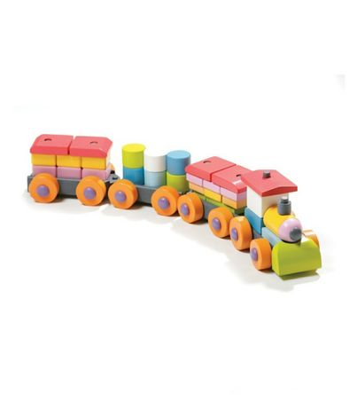 Cubika сортер - поезд