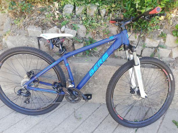 Bicicleta btt travões de disco