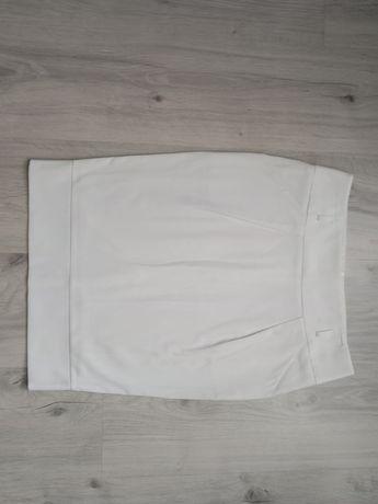 Юбка карандаш белого цвета