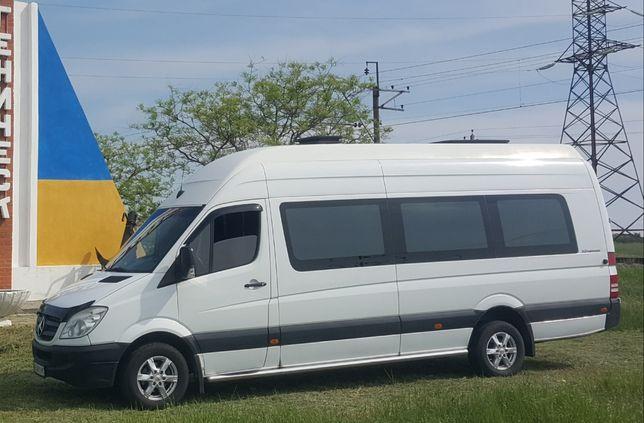 Пассажирские перевозки м/а Sprinter 20-40пас.мест