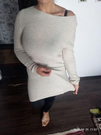 Платье свитер большой размер