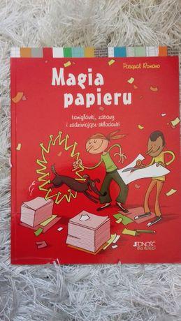 Magia papieru łamigłówki, zabawy i zadziwiające składniki